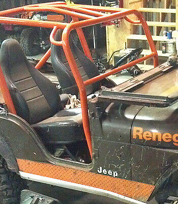 Front Roll Bar Add On Kit Jeep 1976-1983 CJ5 81-86 CJ7 Front Roll Cage Add On