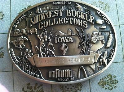 1984 Midwest Buckle Collectors Charter Member Limited Edition #038   (7)