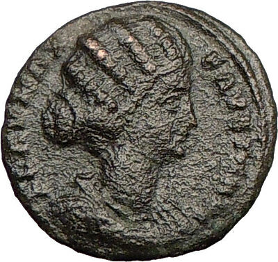 FAUSTA Constantine the Great wife 326AD Ancient Roman Coin Salus Health  i23085