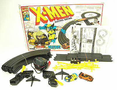 Rarissima Pista Marvel X-Men Electric Racing Sabretooth vs Wolverine TYCO RA-5V