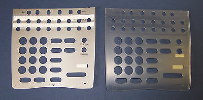 NEC Replacement Dterm 80 DTH-8D-1 and DTR-8D-1 Desi Plastic Cover Overlay