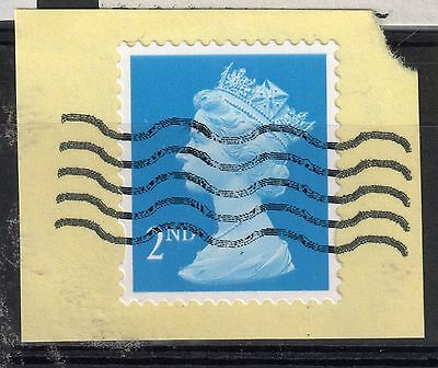 GB = Unusual Cancel on modern stamp - TRIAL ? Cancel. (5) (B1a)