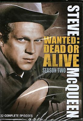 WANTED DEAD OR ALIVE-Season Two DVD-4 DVD Box set-R1-BRAND NEW-Still Sealed