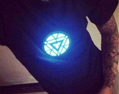 Men's & Women's Fashion Clubbing Light Up Flashing Sound Activated LED T-Shirt