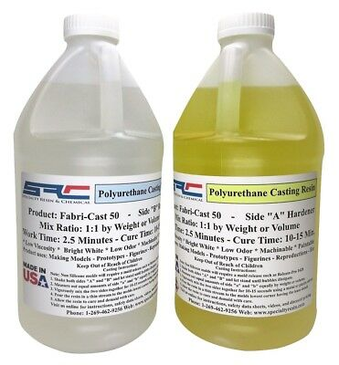 Fabri-Cast 50 Ultra-Low Viscosity Liquid Urethane Casting Resin 1 Gallon