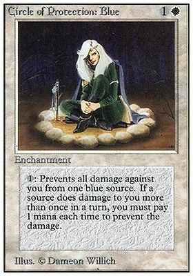2x Circle of Protection: Blue MTG MAGIC Unlimited English NM