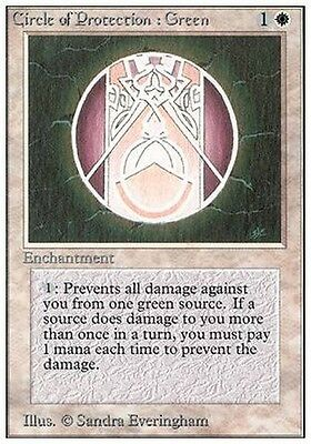 2x Circle of Protection: Green MTG MAGIC Unlimited Eng NM