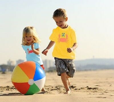 """Large 20"""" Inflatable Beach Ball, Great For Holidays Swimming Pool  51cm FREE P&P"""