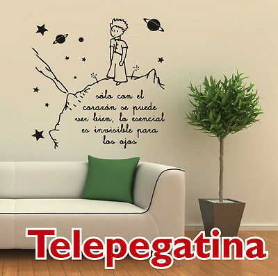 VINILO DECORATIVO PARA PARED EL PRINCIPITO XXL 120x120  - WALL STICKER -