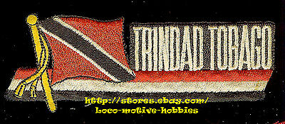 Patch TRINIDAD & TOBAGO  Island Country  Cariibbean Sea Port Spain ERROR Trindad