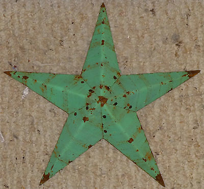 USA Made LIGHT GREEN Rustic Genuine Amish Quality Primitive 22 INCH Barn Star