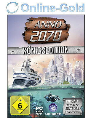 ANNO 2070 - Königsedition Key mit Ubisoft Download Manager [PC] [DE]