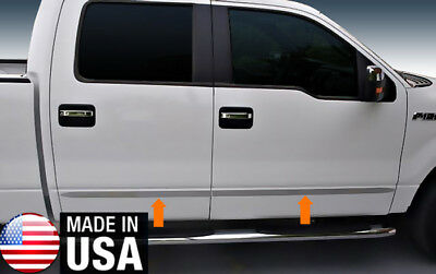 """TYGER For 04-08 F150 Super Cab 6.5/' Short Bed Body Side Molding Trim 1.5/"""" 4PC"""