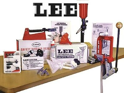 Lee Challenger Breech Lock Single Stage Press Anniversary Kit # 90050 New !