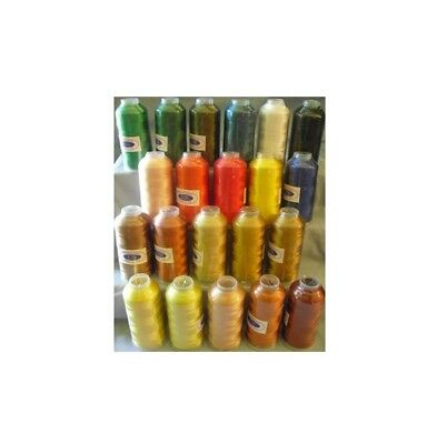 Machine Embroidery Thread X-Lg 6000 Yard Cones Rayon #40 Set4 SELECT YOUR COLOR!
