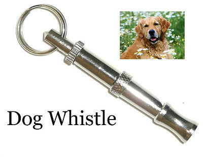 DOG TRAINING OBEDIENCE WHISTLE   ADJUSTABLE PITCH  PET PUPPY TRAIN  Stop Barking