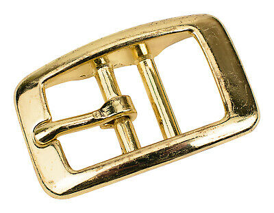 5 - 3/4 Inch Brass Plated Tongue Buckle Closeout