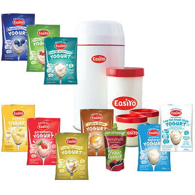 Easiyo Mixed Starter Pack RRP  Over £49 Make your Own delicious Yogurt