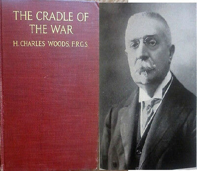 1918 CRAGLE OF WAR Near East & Pan-Germanism WOODS Turkey Armenian Russia Serbia