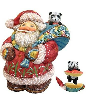G DeBrekht Panda Express Santa 900 Pc LE Surprise Box 4.25 inch Figurine 517884
