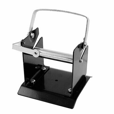 Silver Tone Electronic Welding Equipment Solder Wire Stand Holder