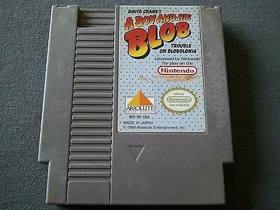 A Boy and His Blob Trouble on Blobolonia Nintendo 1989