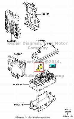 2009 Ford Focus Belt Diagram further 2000 Mazda Mpv Wiring Diagram Schematic in addition Radiator Cooling Fan Motor Relay Located likewise Set Of 3 Three Ford 321121400141 further  on auxiliary fuse box ford focus