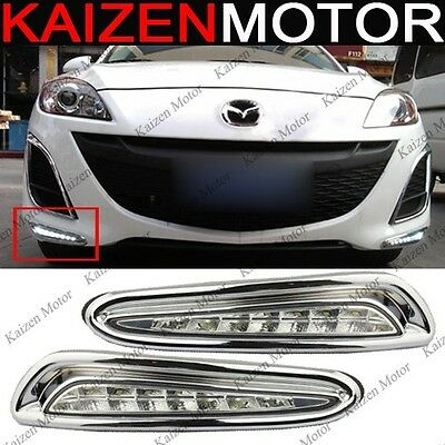 OEM Factory Fitment LED DRL Daytime Running Fog Light for Mazda 3 2010-2013 #DL7