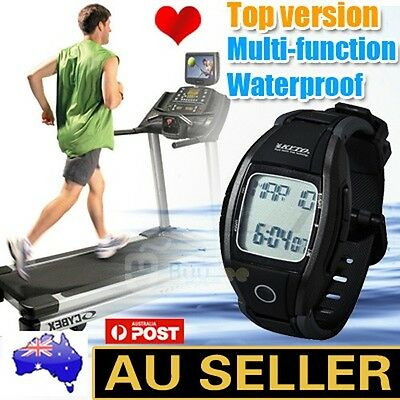 Advanced Pulse Heart Rate Monitor Sports Watch Calorie Counter 8-in-1Fitness New