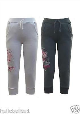 Girl's Soul&glory Cropped Joggers/jogging Pants/trouser 5-6 7-8 9-10 Yrs