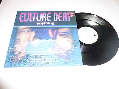"""CULTURE BEAT - Anything - 1993 4-track 12"""" vinyl single"""