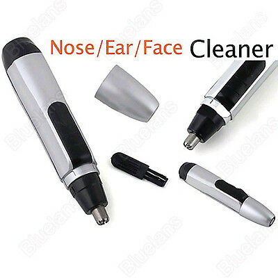 New Portable Electric Nose Ear Face Hair Trimmer Shaver Clipper Cleaner Remover