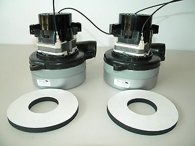 Carpet Cleaning  2-Stage Extractor Vacuum Motors W/Gaskets CPR Mytee EDIC Sandia