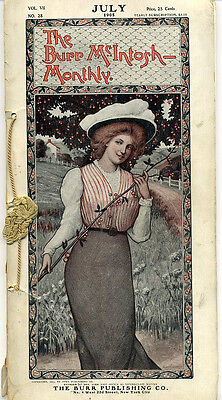 Burr McIntosh Monthly magazine July 1905 - complete
