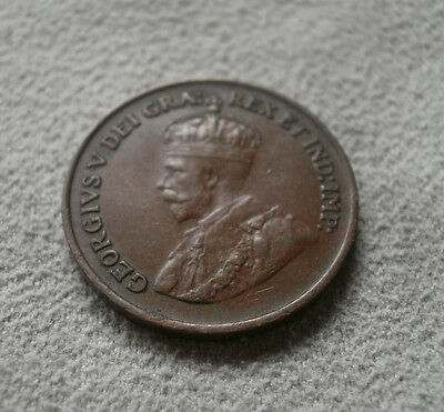 1931 Canada Canadian small cents one cent penny coin