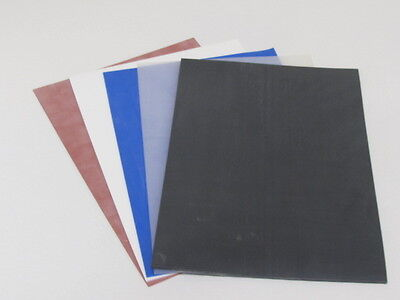 Silicone Rubber Sheet 4Mmthk A4 Sheet Size In White,blue,red Oxide Trans & Black