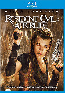 Blu ray -RESIDENT EVIL AFTERLIFE- COME NUOVO!!