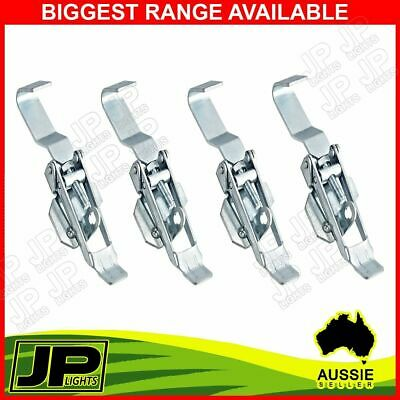 X4 Toggle Fastener Hook Type Overcentre Latch Over Center Trailer Truck Ute 4Wd