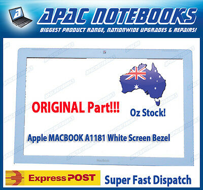 """A1181 13.3"""" White LCD cover Front Bezel B"""