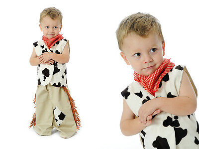 NEW Little Heroes Cowboy Howdy Partner Dress Up Costume Size L (6-8yrs)