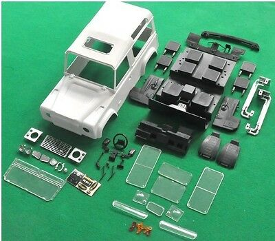 1/10 Super Scale Land Rover D90 Body Set for SCX 10 rc4wd