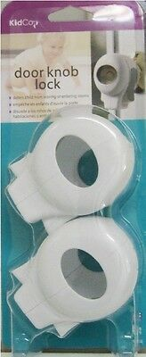 KidCo Baby Toddler Door Knob Safety Lock Cover-2 pack
