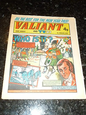 VALIANT & TV21 - Date 05/01/1974 - UK Comic