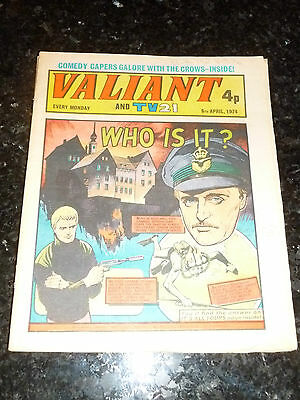 VALIANT & TV21 - Date 06/04/1974 - UK Comic