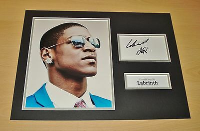Labrinth GENUINE SIGNED Autograph 16x12 Photo Display Electronic Earth + COA