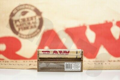 2 Pcs Authentic Raw Hemp Rolling Paper Machine Hand Roller 110Mm King Size