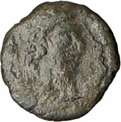 "LEO I 457-474AD Byzantine ""Roman"" Ancient  Genuine Coin MONOGRAM  i20588"
