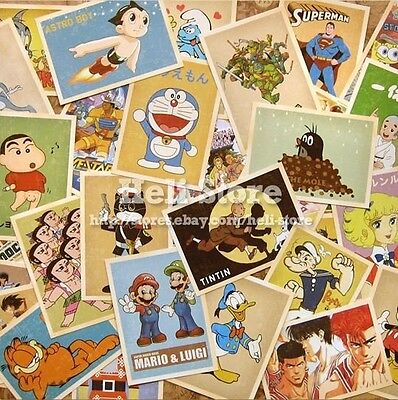 Lot of 32 Postcards Vintage Classic Animation postcard album Greeting Post Cards