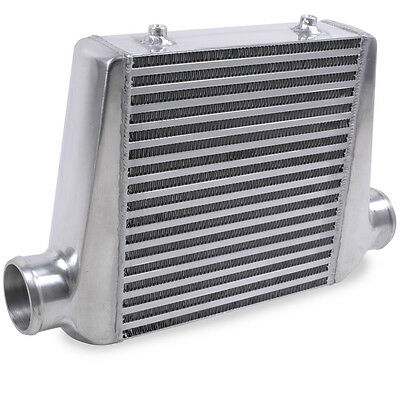 Universal Aluminium Alloy Front Mount Turbo Intercooler Kit 300Mm X 280Mm X 76Mm