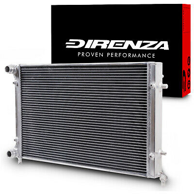 Twin Core Aluminium Alloy Cooling Race Radiator Rad For Golf Mk6 Audi A3 1.2Tsi